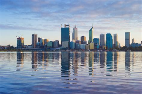Old Photos Of Perth Citys Skyline Rob Dose Landscape