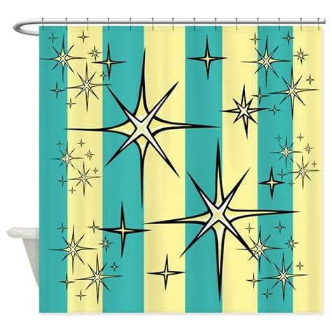 mid century modern curtains mid century shower curtain by angelinalucia10 7496