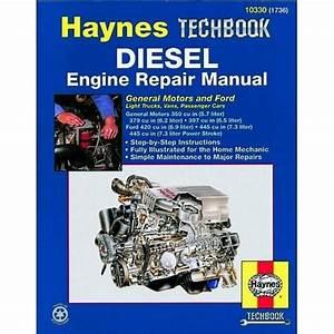 Haynes Techbook Diesel Engine Repair Manual 10330