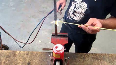 comment faire une brasure cuivre galva tutorial video