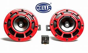 Subispeed Hella Supertone Horn Kit With Bracket And Wiring