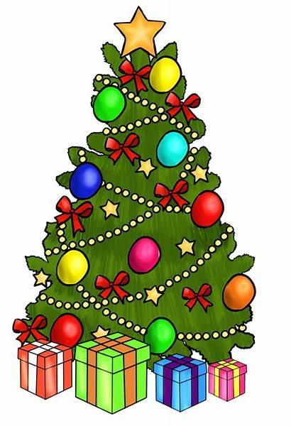 Tree Christmas Animated Presents Catholic
