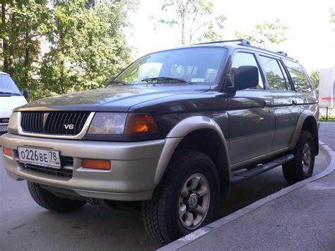 1999 Mitsubishi Montero Sport by 1999 Mitsubishi Montero Sport Photos 3 0 Gasoline