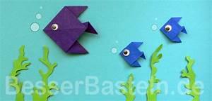 Deko Fische Zum Aufhängen : origami fische kinder pinterest origami fisch ~ Lizthompson.info Haus und Dekorationen
