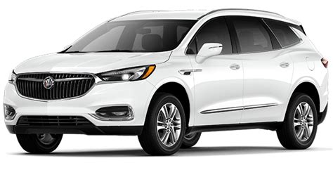 buick enclave mid size luxury suv model details