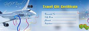 travel gift voucher certificate template execl template With vacation gift certificate template