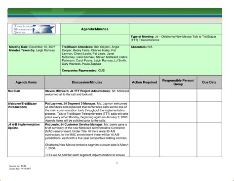 meeting agenda template excel 12 meeting minutes template excel authorizationletters org