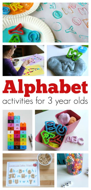 for 3 year olds alphabet activities for 3 year olds no time for flash cards