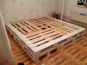 Betten Aus Paletten : emejing bett aus paletten bauen contemporary ~ Michelbontemps.com Haus und Dekorationen