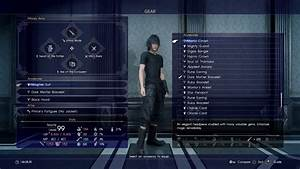 FINAL FANTASY XV 15 MOST OF BEST GEAR WEAPONS AND
