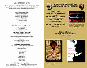 black history church program outline bing images With black history program template
