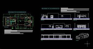 Plan de maison autocad for Plan de maison avec autocad