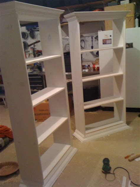 building a built in bookcase diy built in bookcases build it stain it paint it