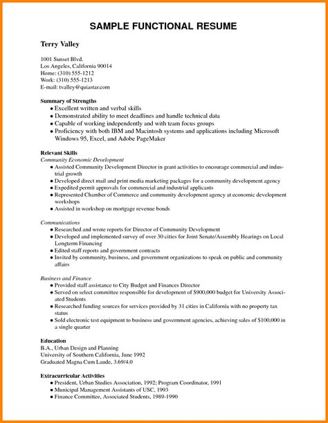 resume in pdf sle of resume for application resume cv cover letter
