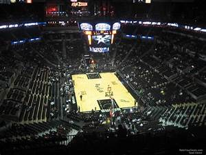 At T Center Seating Chart At T Center Section 201 San Antonio Spurs