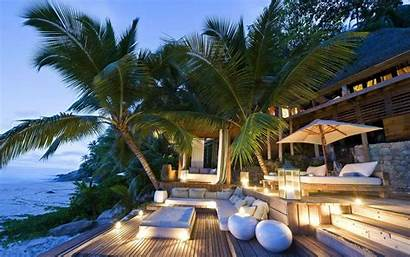 Resort Palm Vacation Trees Villa Eco Caribbean
