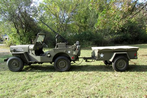 military jeep side 1952 willys military jeep 189006