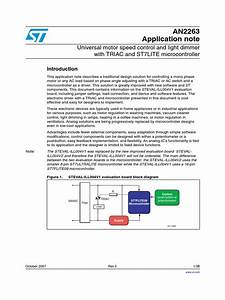 Application Note An2263