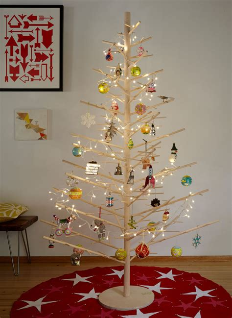 buy wooden christmas tree 12 modern christmas trees you can decorate with this 4126