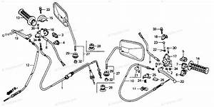 Honda Scooter 1989 Oem Parts Diagram For Handle Switch