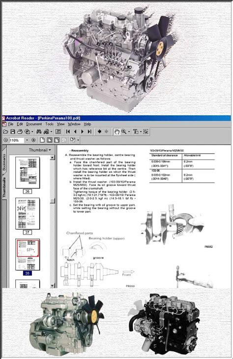 perkins diesel workshop manuals  cd