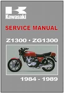 Find Kawasaki Workshop Manual Z1300 Kz1300 Z1300