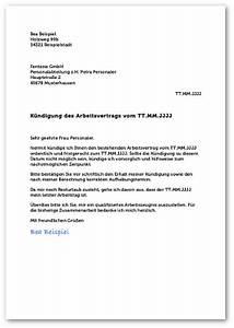 Kündigung Einer Wohnung : k ndigungsschreiben gratis muster form inhalt tipps ~ Yasmunasinghe.com Haus und Dekorationen