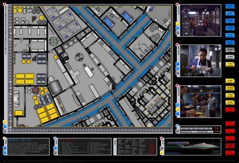 starship deck plans pdf enterprise nx 01 layout galley detail