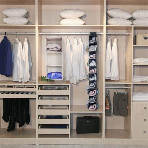 hanging closet shelves hanging shoe organizer maidmax 10 shelf non woven