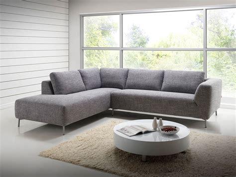 canapé de jardin en résine tressée salon canapé d 39 angle design avec méridienne en tissu gris