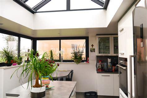 cuisine avec veranda agrandir sa cuisine ikea une maison de cagne