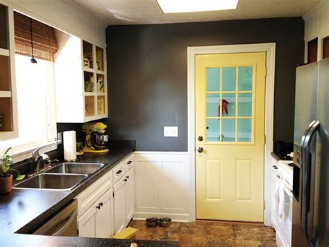 kitchen interior doors yellow interior door for the kitchen home designs project