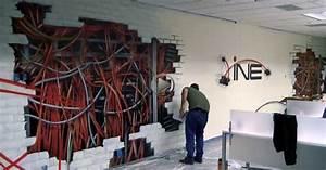 Graffiti art office wall g ? grafite indoor