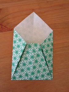 Enveloppe En Origami Diy Une Enveloppe En Origami Du Papier