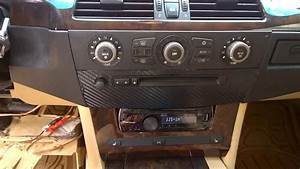 Bmw 530i 2007 Instalar Radio  Radio Removal  Kit Radio