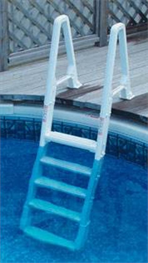 above ground deck to pool adjustable ladder confer 6100 ebay