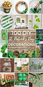 100, Best, Diy, St, Patrick, U0026, 39, S, Day, Decor, Ideas