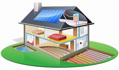 Solar Water Clipart Energy Heater Eco Power