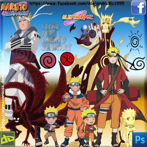 naruto my favorite forms by alemccaracas on deviantart