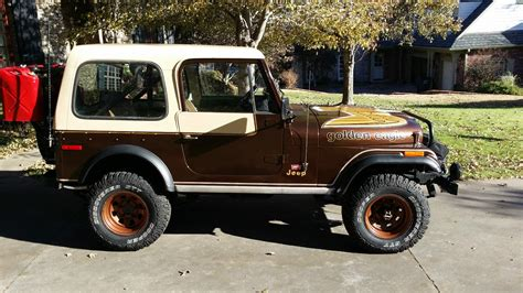 jeep cj golden eagle 1979 jeep cj7 golden eagle 304 v8 4 speed levi package