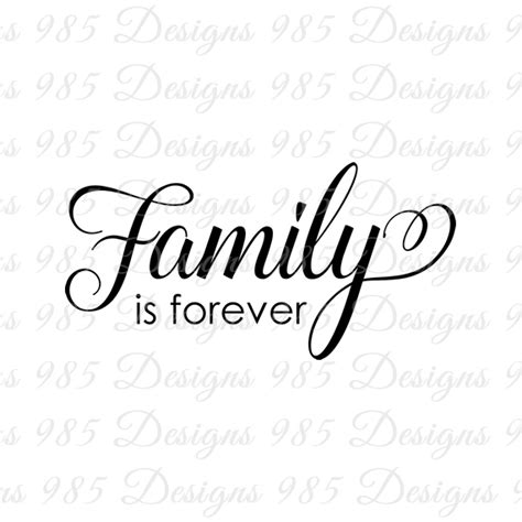 family   script word svg    graphic