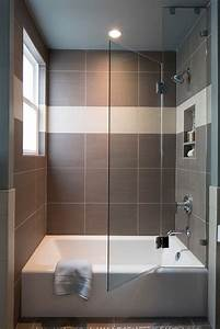 45, Small, Bathrooms, With, Bathtub, Ideas