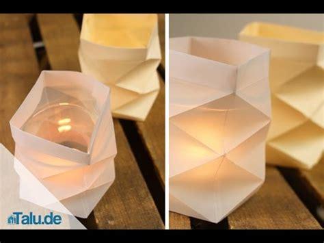 knickwindlicht fuer teelichter aus papier basteln