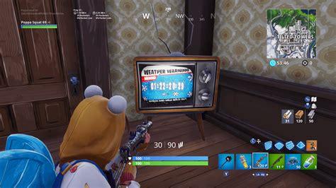 tv timer points    fortnite event
