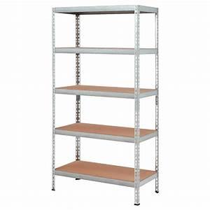 Etagere De Jardin : tag re de rangement robuste en m tal armoires de ~ Premium-room.com Idées de Décoration