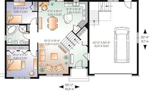 split level multi level house plan 2136 sq ft home plan 126 1081