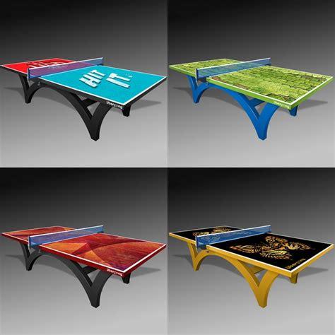 custom logo ping pong table custom ping pong tables by uberpong