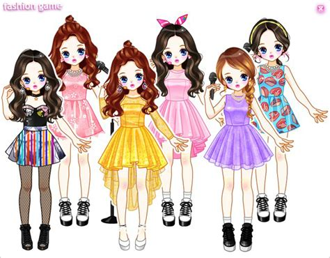 Korean Kpop Dress Up Games