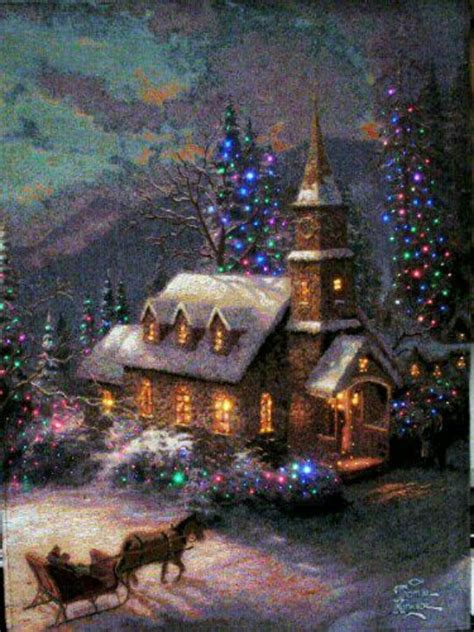 17 inch lighted church scene with colorful rice lights 17 best images about on trees reindeer and snow
