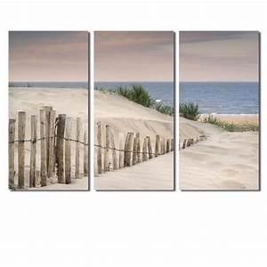 Toile De Mur : 3pcs bord de la mer toile peinture mur art image pour salon d coration sans cadre 30x60cmx3p no ~ Teatrodelosmanantiales.com Idées de Décoration